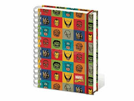 Marvel Faces A5 Notebook Accessories