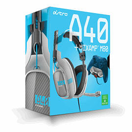 Astro A40 Gaming Headset with M80 Mix Amp Pro for Xbox One - Blue Accessories