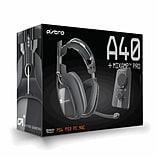 Astro A40 Gaming Headset with Mix Amp Pro for PlayStation 4 - Grey screen shot 1