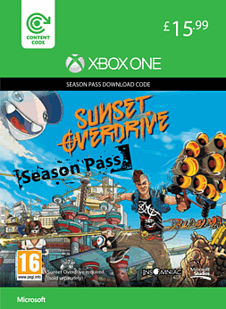Sunset Overdrive Season Pass Xbox Live Cover Art