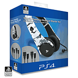 PlayStation 4 Stereo Gaming Headset Starter Kit (Arctic Camo) screen shot 1