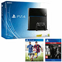 PlayStation 4 with FIFA 15 and The Last of Us Remastered Download PlayStation 4