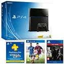 PlayStation 4 with FIFA 15, 12 months PS+ and The Last of Us Remastered Download PlayStation 4