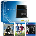 PlayStation 4 with FIFA 15, Destiny and The Last of Us Remastered Download PlayStation-4