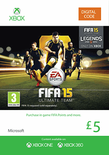 FIFA 15 Ultimate Team £5 Top Up Xbox Live