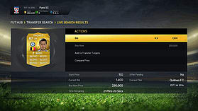 FIFA 15 Ultimate Team £10 Top Up screen shot 6