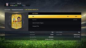 FIFA 15 Ultimate Team £25 Top Up screen shot 7
