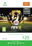 FIFA 15 Ultimate Team £25 Top Up Xbox Live