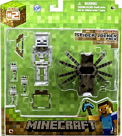 Minecraft Spider Jockey 3 Inch Figure Toys and Gadgets