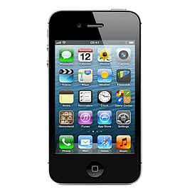 iPhone 4S 16GB Black (B Grade, Good Condition) - Unlocked Sku Format Code