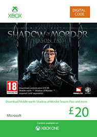 Middle Earth: Shadow Of Mordor Season Pass Xbox Live Cover Art