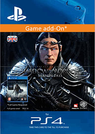 Middle Earth: Shadow Of Mordor Season Pass PlayStation Network Cover Art