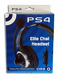 Elite Gaming Headset For PlayStation 4 Accessories