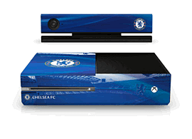 Xbox One Chelsea FC Console Skin Accessories