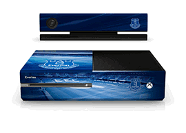 'Xbox One Everton Fc Console Skin For Xbox One