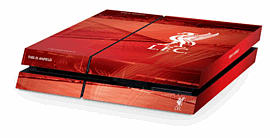 PlayStation 4 Liverpool FC Console Skin Accessories