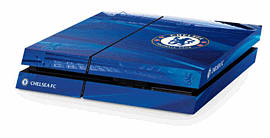 PlayStation 4 Chelsea FC Console Skin Accessories
