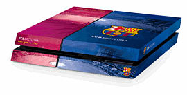 PlayStation 4 Barcelona FC Console Skin Accessories