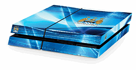 PlayStation 4 Man City FC Console Skin Accessories