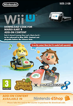 Mario Kart 8 Content Pack 2 Wii U