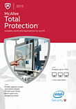 McAfee Total Protection 2015 3PC PC Software