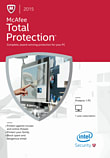 McAfee Total Protection 2015 1PC PC Software