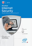 McAfee Internet Security 2015 1PC PC Software