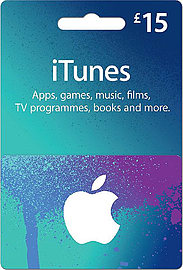 iTunes Card - £15 Gift Cards
