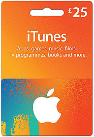 iTunes Card - £25 Gift Cards