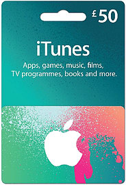 iTunes Card - £50 Gift Cards