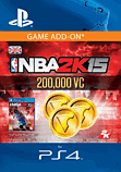 NBA 2K15 - 200,000 Virtual Currency PlayStation Network