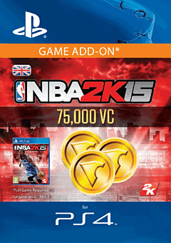 NBA 2K15 - 75,000 Virtual Currency PlayStation Network