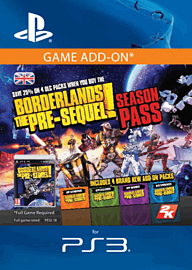 Borderlands: The Pre-Sequel Season Pass PlayStation Network