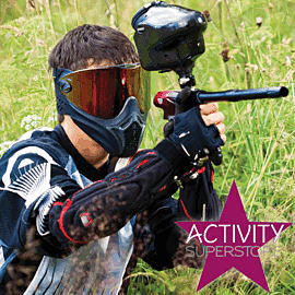 Paintball Combat for Eight Gift Voucher Gifts