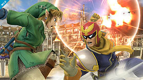Captain Falcon - amiibo - Super Smash Bros Collection screen shot 4