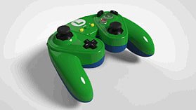 Super Smash Bros Luigi Gamecube Controller For Wii U screen shot 3