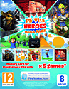 PlayStation Vita Heroes MEGA Pack with 8GB Memory Card Accessories
