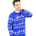 PlayStation Christmas Jumper (L) Clothing