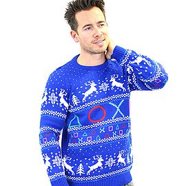 PlayStation Christmas Jumper (XL) Clothing