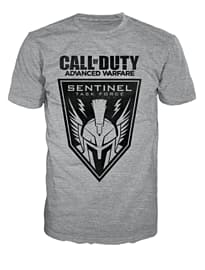 Call Of Duty Advanced Warfare Grey Sentinel T-Shirt (Medium) Clothing