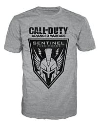 Call Of Duty Advanced Warfare Grey Sentinel T-Shirt (Large) Clothing