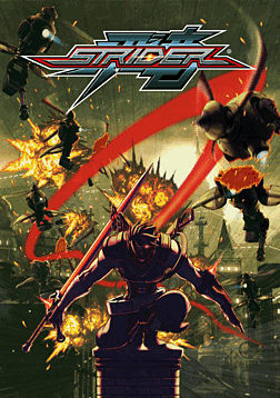 Strider PC Games Cover Art