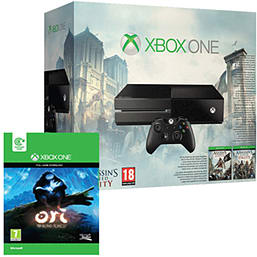 Xbox One with AC: Unity, AC IV: Black Flag & Ori and the Blind Forest Xbox-One