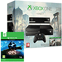 Xbox One with Kinect, Assassin's Creed: Unity and Assassin's Creed IV: Black Flag downloads Xbox-One