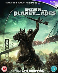 Dawn Of The Planet Of The Apes 3D Blu-Ray