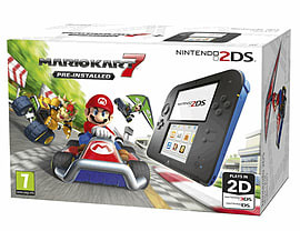 Nintendo 2DS with Mario Kart 7 - Only at GAME 2DS
