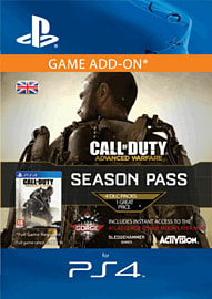 Call Of Duty Advanced Warfare Season Pass (PS4) PlayStation Network Cover Art