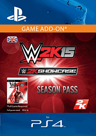 WWE 2K15 Showcase Season Pass (PS4) PlayStation Network