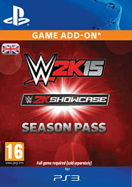 WWE 2K15 Showcase Season Pass (PS3) PlayStation Network Cover Art