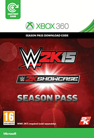 WWE 2K15 Showcase Season Pass (Xbox 360) Xbox Live